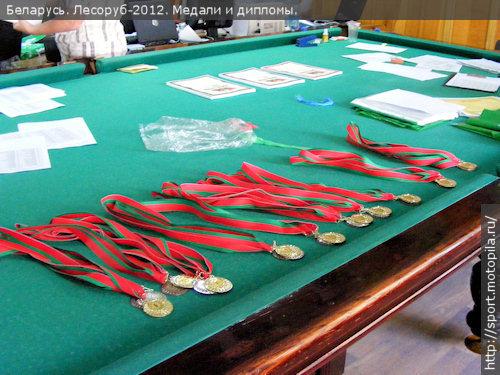 медали и дипломы в помещении  счётной комиссии